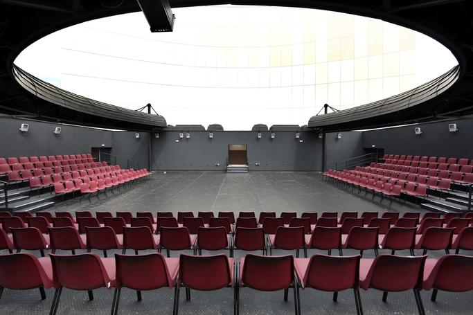 Amfiteatrul în aer liber- TB