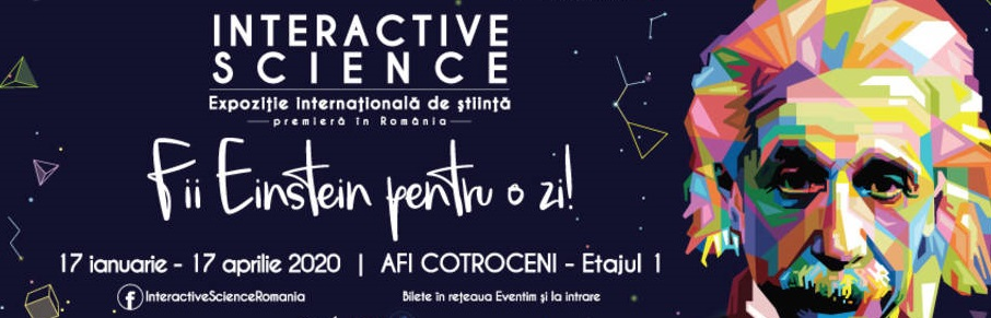 Interactive Science- omul invizibil in Afi Cotroceni