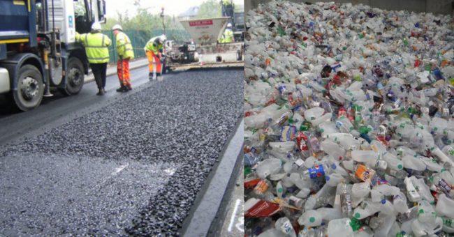 asfalt plastic