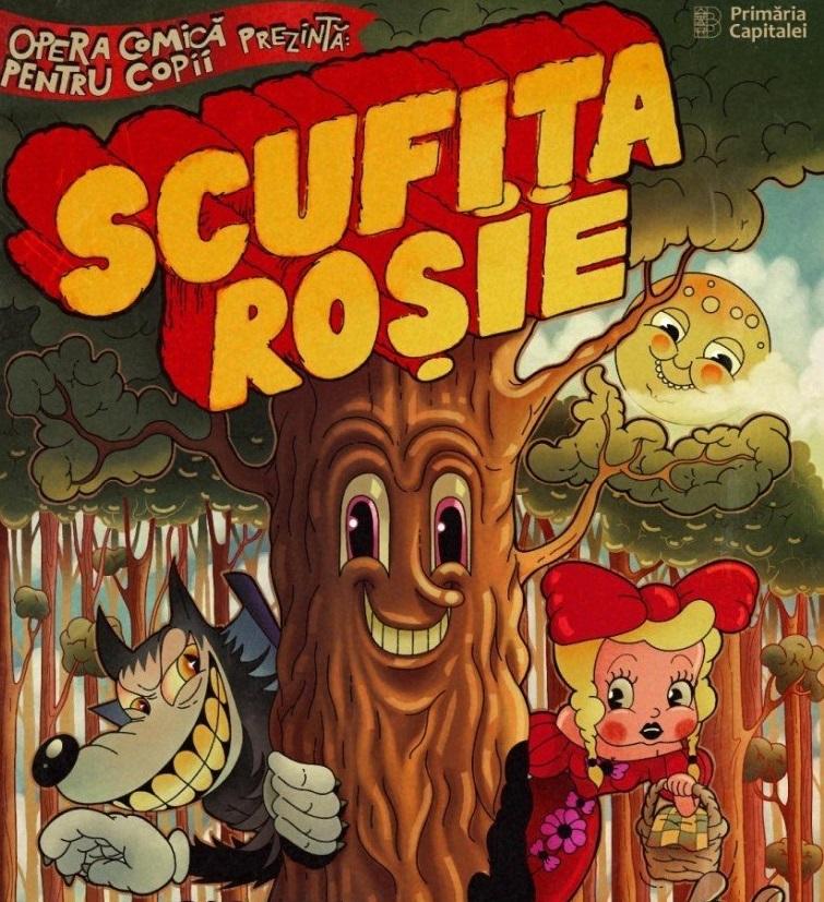 scufita rosie- opera comica pentru copii