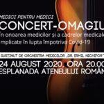 Medici pentru medici: concert- omagiu