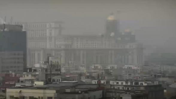 senzori poluare Bucuresti