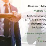 Cercetarea se întâlnește cu industria – aplicați online